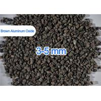 China Refractory Grade Brown Aluminum Oxide Abrasive Multi Size 200 / 325 Mesh on sale