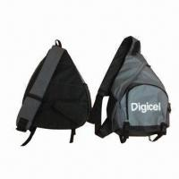 China Mono strap backpack, made of 600D polyester wholesale