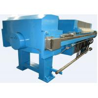 China 1.2 Mpa Automatic Chamber Membrane Filter Press PP Plate Size 800 Mm on sale