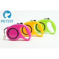 China Heavy Duty Retractable Pet Leashes Quick Release Basic Collars Type on sale