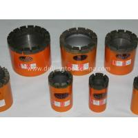 China IMP Diamond Core Bit Geological Drilling Bits Wire-line  BW NW HW PW wholesale