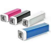 2200mAh iPhone External Battery Charger , Mini Lipstick Power Bank