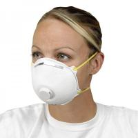 China Non Woven Activated Carbon Respirator N95 , Carbon Filter Dust Mask With Valve on sale