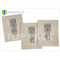 China Moisture Proof Foil Printed Laminated Bags , Kraft Paper Food Bags Tea Packing on sale