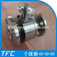 China stainless steel flanged ball valve china supplier wholesale