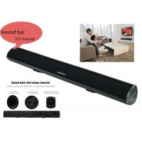 China Portable Bluetooth Bar Speaker  2.0 Channle Built In Bass System For Home Audio wholesale