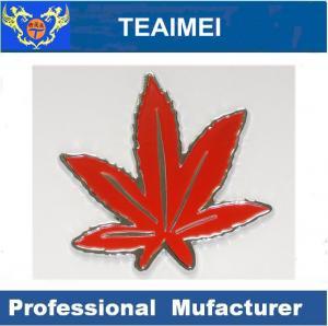 China Red Maple 3D Custom Car Emblems Toyota Tacoma / Tundra Badges wholesale