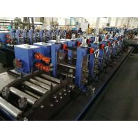 China Powerful Erw Pipe Manufacturing Machine / Continuous Production Tube Mill Line on sale