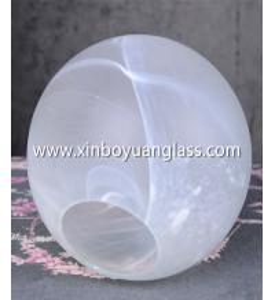 China REPLACEMENT SCREEN OPAL WHITE BALL ART NOUVEAU ART DECO LAMP SHADE GLASS BALL wholesale