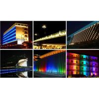 China High Power Outdoor Wall Wash Lighting Placement With DMX IP65 Waterproof on sale