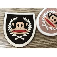 China Professional Customized  Microfiber Rubber Logo Patch For Clothes And Bags Etc wholesale