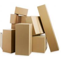 Buy cheap Kraft paper packaging box cardboard corrugated box from wholesalers