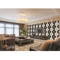 China Curve Living Room Bedroom PVC Modern Removable Wallpaper For TV Background wholesale