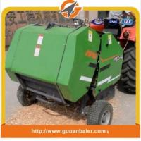 China Agriculture tractor mounted mini round Wheat straw baler machine for India market on sale
