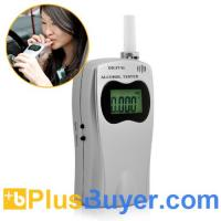 China Deluxe Breathalyzer - Alcohol Tester with LCD Screen wholesale