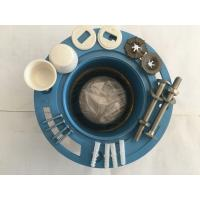 Leak Proof Toilet Fittings Rubber Toilet Wax Ring Gasket With Flange Installed for sale