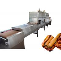China Industrial 80KW Spice Sterilization Machine With Microwave Generator System wholesale