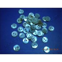 China Wholesale Round 2 Holes White MOP Shell Button wholesale