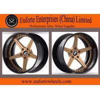 Buy cheap 2pieces forged wheels / BMW X5 Bronze forged Wheels / 5-Spokes forged wheels from wholesalers