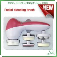 China 5in1 facial brush facial cleansing brush good quality manufacture wholesale wholesale