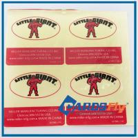 China customized stickers wholesale