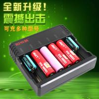 China 6 Slots AA AAA Lithium Ion Battery Charger , Universal Nimh Nicd Battery Charger on sale