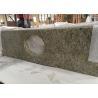 China New Venetian Gold Granite Prefab Stone Countertops Waterproof Type wholesale