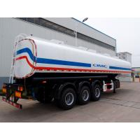 China tri-3 axle optional volume semi trailers fuel tankers for sale on sale