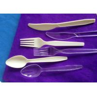 China Plastic knife fork spoon for hotel or aviation disposable plastic tableware wholesale