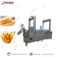 China French Fries Continuous Frying Machine Commercial French Fries Fryer Equipment French Fries Continuous Frying Machine wholesale