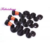China Indian Straight / Body Wave Hair Raw Unprocessed Virgin Human Hair 9A Grade wholesale