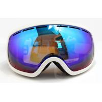 China UV Protection Over Glasses Mirrored Ski Goggles with Soft TPU Frame wholesale