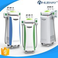 5 handles Vacuum+Cryo, Cavitation and RF multifunctional Cryolipolysis slimming machine