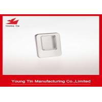 China Metal Tinplate Blank Mini Tin Box With Clear PVC / PET Window On Cover YT1376 on sale