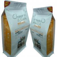 China Zip Lock Customised Small Pet Food Bags For Fruity Biscut Orange Slice wholesale
