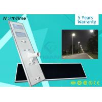 China 120 Watt High Competitive Outdoor IP65 Waterproof All In One Solar Street Light LED wholesale