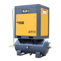 China Excellent Quality 7.5kw Screw Air Compressor combined 300l tank wholesale