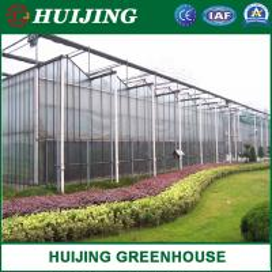 China Venlo Glass Multi-Span Intelligent Green House for Horticulture/Flower Market/Ecological Restaurant on sale