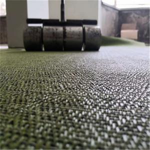 China Ostboden Pvc Woven Vinyl Flooring , Woven Tile Flooring For Hospital on sale