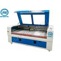 China No Burr / Fraying CO2 Laser Cutting Engraving Machine , Automatic Fabric Cutter wholesale