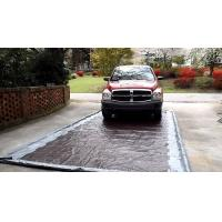 China Mobile Valeting Wash Pad Containment Systems PVC Washpad For Cleaning wholesale