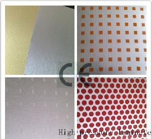 China Red Dots Metallic HPL/Compactlaminate/High Pressure Laminate on sale