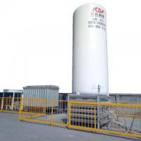 China stainless steel cryogenic liquid tank for gas cylinder filling plant wholesale
