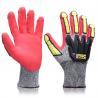 China Impact Protection Heavy Duty Mechanic Gloves Customized Logo For Mining wholesale