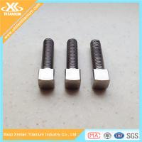 Pure Titanium And Titanium Alloy Square Head Bolts