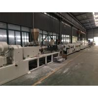 China SJSZ Series Conic Double Screw PVC Agriculture Pipe Extrusion Machine Line wholesale