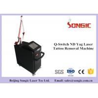 Buy cheap Professional Q Switched ND YAG Laser Pigment Removal Machine 1064nm & 532nm from wholesalers