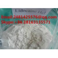 Buy cheap 99% Purity Pain Killer Lidocaine Hydrochloride CAS 73-78-9 Local Anesthetic from wholesalers
