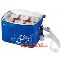 China polyester cheap simple insulated cooler bag for food, Promotional custom recyclable aluminum foil picnic insulated lunch wholesale