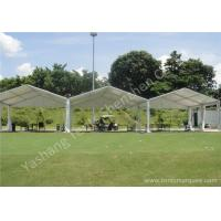 China Outside High Performance Golf Sport White Fabric Aluminum Framed Event Tents wholesale